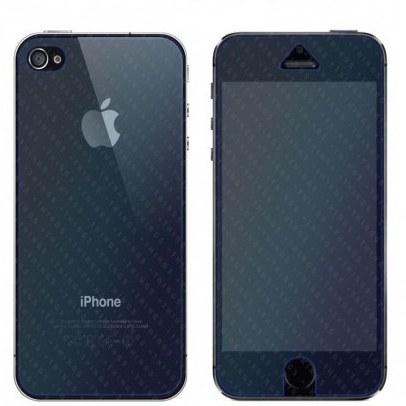 تصویر محافظ صفحه نمایش ضد ضربه گلس نانو پشت و روی آیفون Iphone SE