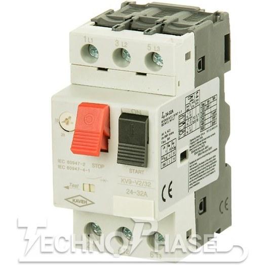 تصویر کلید حرارتی (محافظ موتور) کاوه رنج تنظیم: 2/5-1/6