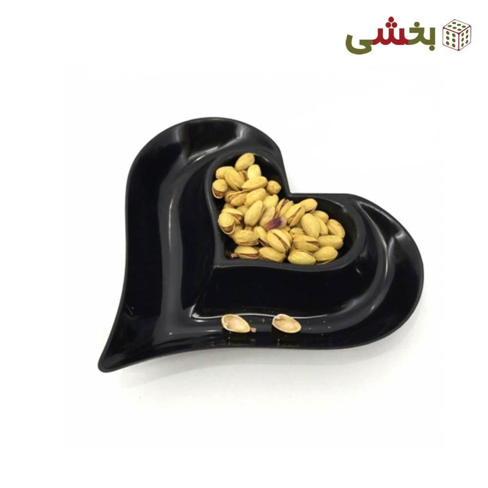 تصویر اردوخوری 2 خانه مدل قلب کاجین