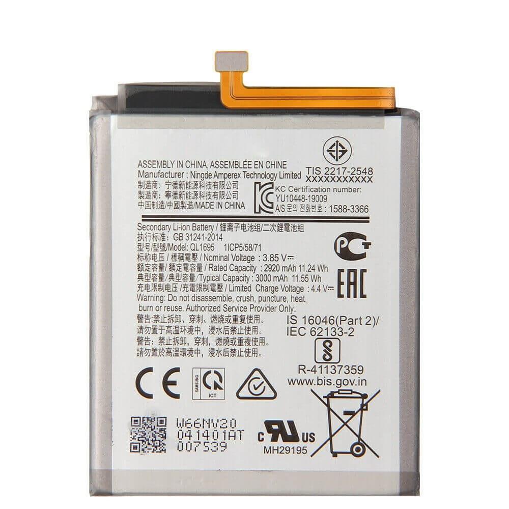 تصویر باتری اصلی سامسونگ گلکسی Samsung Galaxy A01