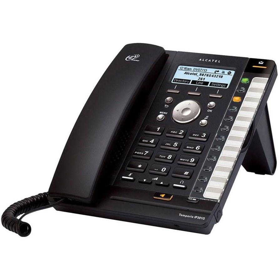 تصویر تلفن تحت شبکه آلکاتل مدل 301 Alcatel 301 IP Phone