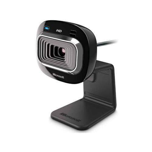 تصویر وب کم HD مایکروسافت مدل لایف کم HD-3000 Microsoft LifeCam HD-3000 HD Webcam