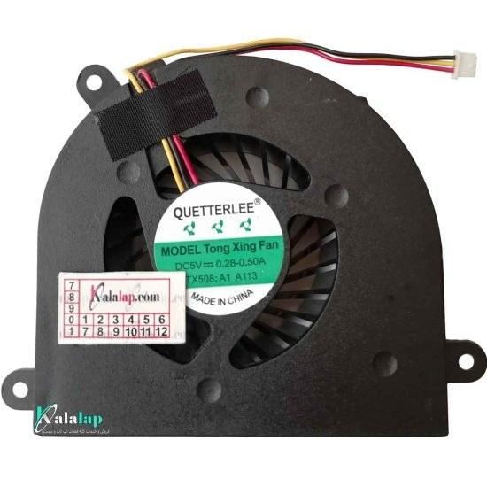 تصویر فن لپ تاپ لنوو FAN LENOVO Y550 CPU Cooling Fan for Lenovo IdeaPad Y550 Y550A Y550M Y550P series laptop