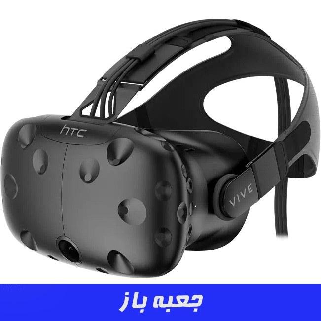 تصویر عینک واقعیت مجازی HTC Vive – اچ تی سی وایو ا HTC VIVE Virtual Reality System VR Headset with Controllers HTC VIVE Virtual Reality System VR Headset with Controllers
