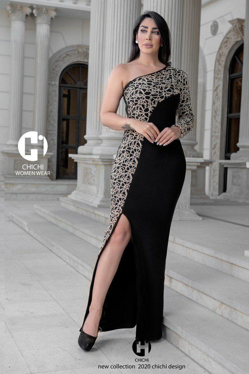 تصویر لباس مجلسی چی چی مدل تندیس