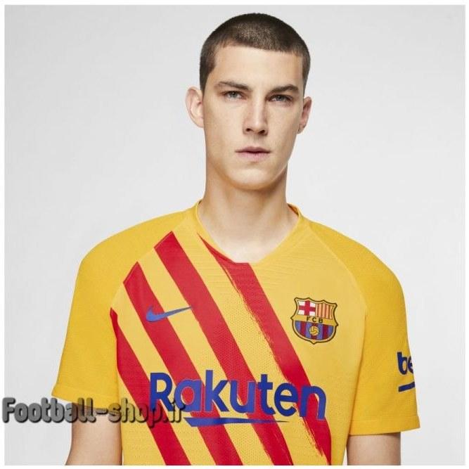 تصویر لباس چهارم آستین کوتاه اورجینال بارسلونا 2020-Nike