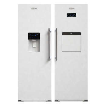 عکس یخچال فریزر دوقلو الکترواستیل مدل ES23 Electrosteel-ES23W-Refrigerator یخچال-فریزر-دوقلو-الکترواستیل-مدل-es23