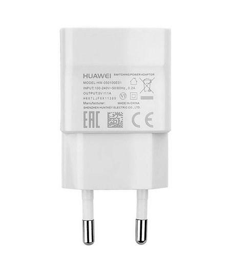 تصویر شارژر دیواری هوآوی مدل HW-050100E01 Huawei HW-050100E01 wall charger