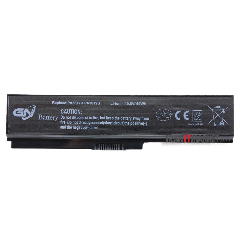 تصویر باتری لپ تاپ توشیبا battery toshiba satellite p755 با ظرفیت 4400 میلی آمپر