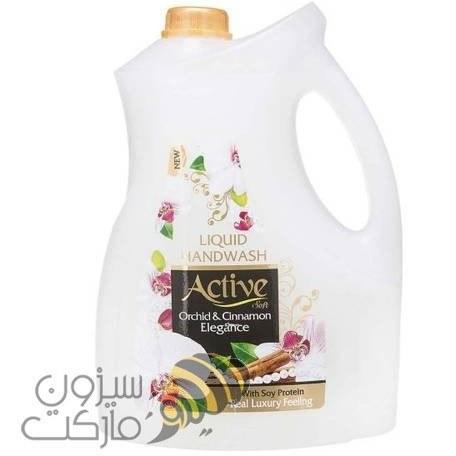 مایع دستشویی کرمی اکتیو گالن 4لیتری