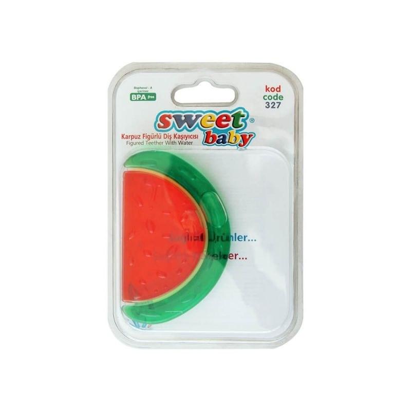 دندان گیر هندوانه ای حاوی مایع سوییت بیبی مدل 327