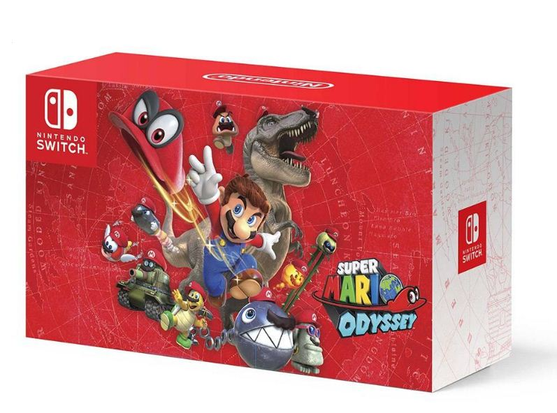 main images Nintendo Switch Super Mario Odyssey Edition Game Console کنسول بازی نینتندو مدل Switch Super Mario Odyssey Edition