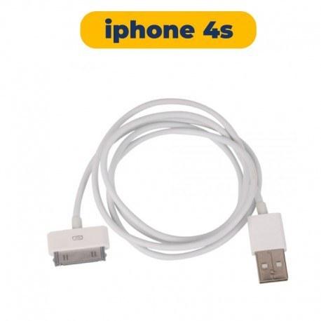 تصویر کابل شارژر آیفون Apple iPhone 4s