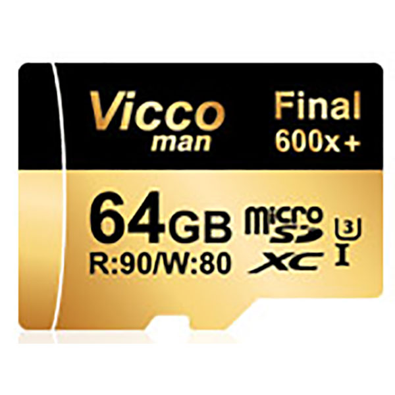 کارت حافظه microSDHC ویکو من مدل Extre600X  ظرفیت 64 گیگابایت