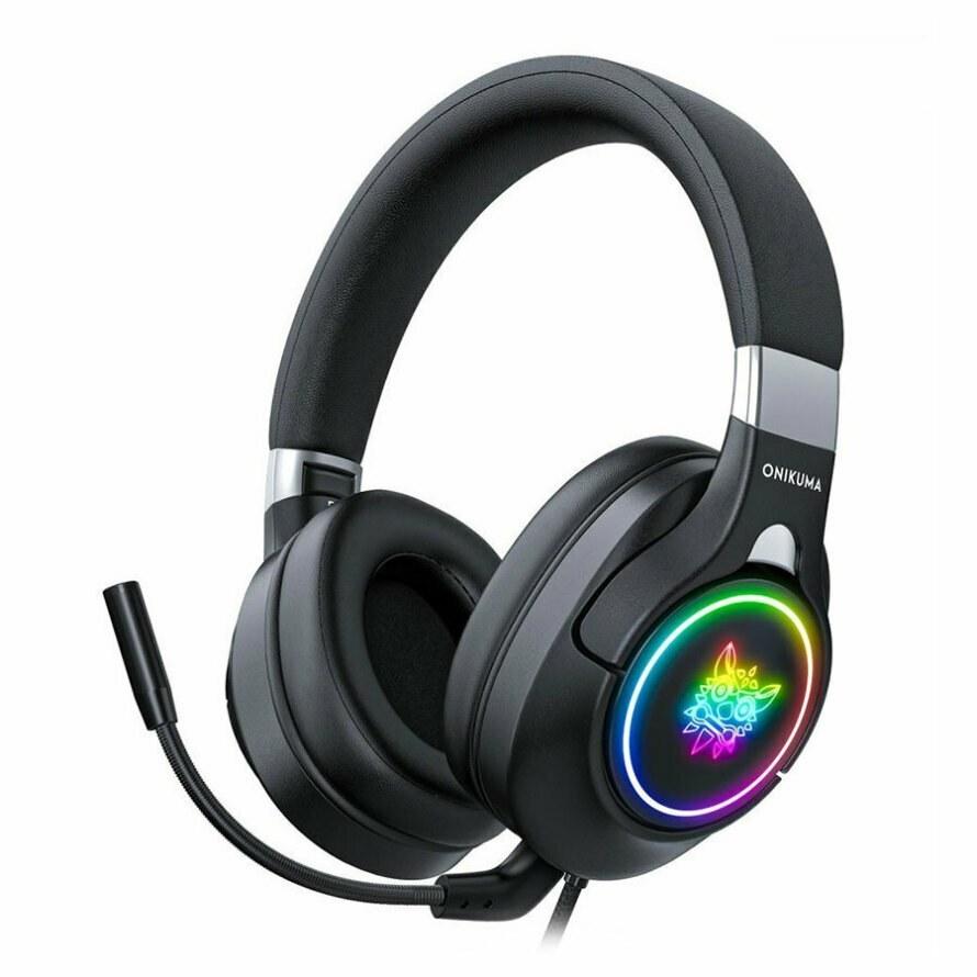 تصویر هدست گیمینگ اونیکوما K15 ONIKUMA K15 Wired RGB Gaming Headset