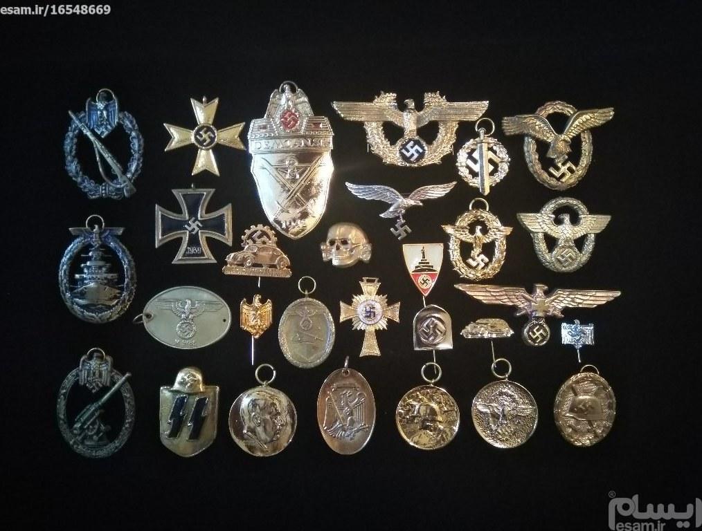 کلکسیون بی نظیر 29 عدد مدال آلمان نازی |