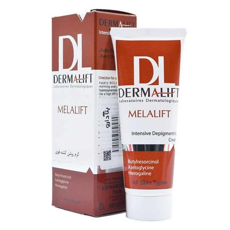 تصویر کرم روشن کننده قوی بدن ملالیفت Dermalift Dermalift Melalift Body Depigmenting Cream