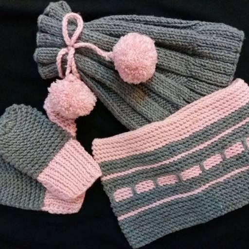 عکس کلاه شال و دستکش پسرانه  کلاه-شال-و-دستکش-پسرانه