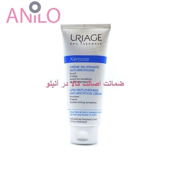 کرم مرطوب کننده گزموز صورت و بدن اوریاژ ۲۰۰ میلی لیتر Uriage XEMOSE Lipid Replenishing Anti Irritation Cream 200 ml