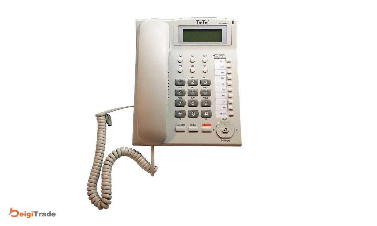 تصویر تلفن تیپ تل مدل TIP-8805
