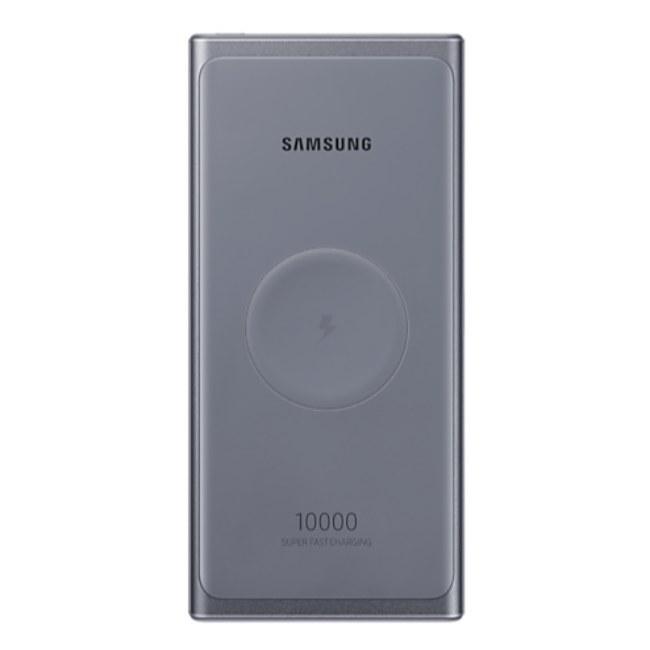 تصویر پاوربانک وایرلس 10000 سامسونگ Samsung 25W Wireless Battery Pack EB-U3300XJEGWW توان 25 وات
