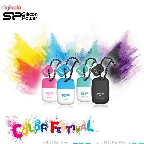 تصویر فلش مموری USB 3.0 سیلیکون پاور مدل جیول جی 07 ظرفیت 8 گیگابایت Silicon Power Jewel J07 USB 3.0 Flash Memory - 8GB