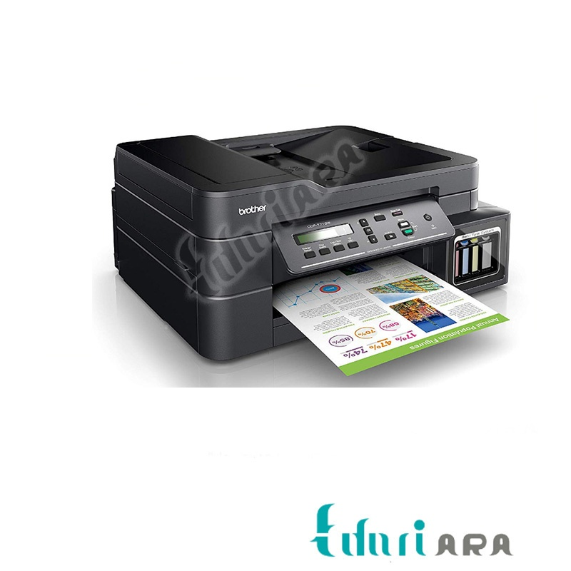 تصویر پرینترچند کاره جوهرافشان برادر T710W Brother Multifunctional inkjet T710W printer