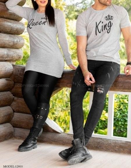 تصویر ست دونفره King & Queen مدل 12955