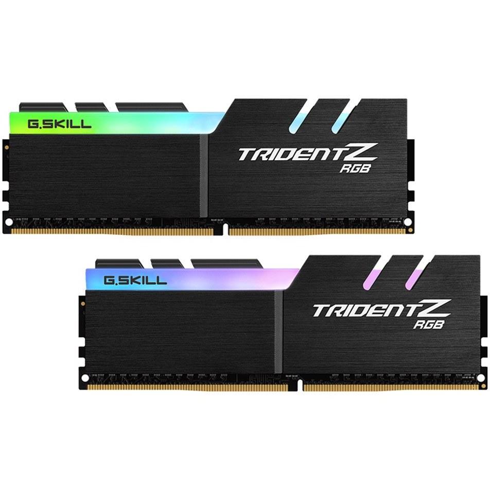 تصویر رم  CL18 DDR4 جی اسکیل 16 گیگابایت 4000MHZ مدل TRIDENT Z RGB B