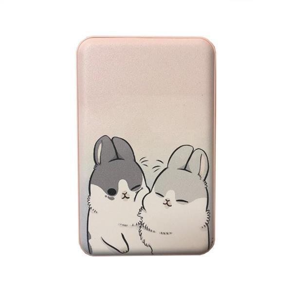 تصویر شارژر همراه ریمکس مدل RPP-101 Cute Rabbits ظرفیت 10000 میلی آمپر ساعت REMAX Helsa Series RPP-101 Cute Rabbits Power Bank 10000mAh