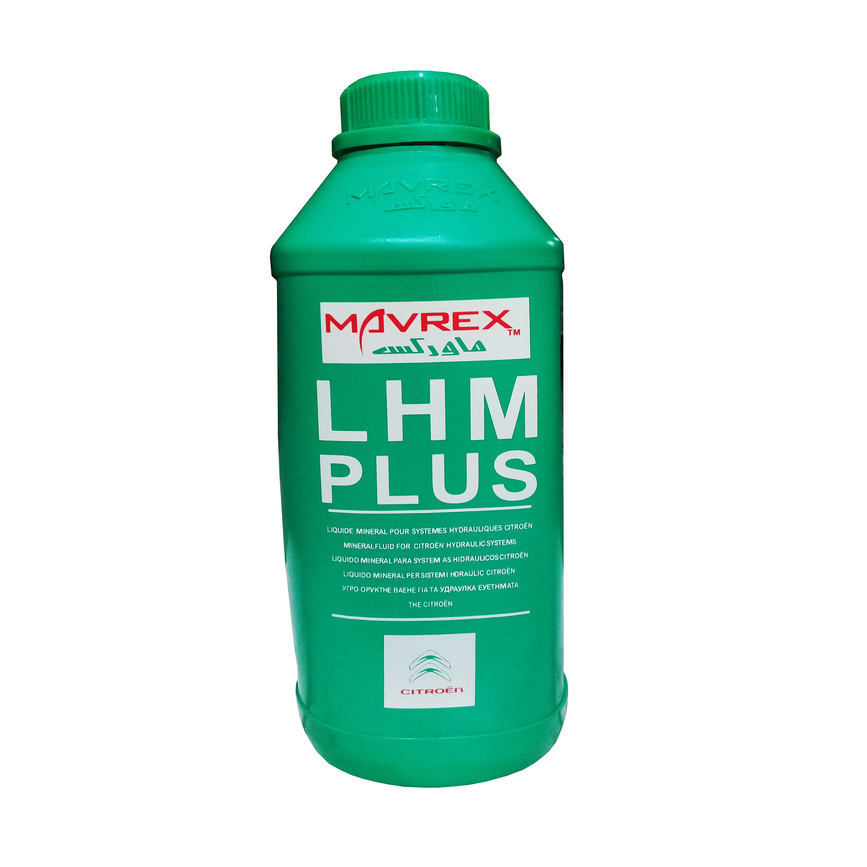 تصویر روغن هیدرولیک خودرو ماورکس مدل LHM PLUS  حجم ۱۰۰۰ میلی لیتر