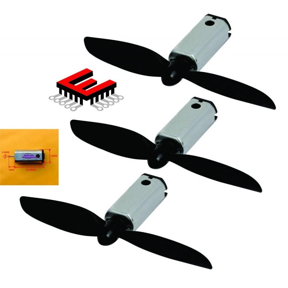 تصویر موتور دور بالای 7.4 ولت مناسب برای هلیکوپتر و کوادکوپتر - N40