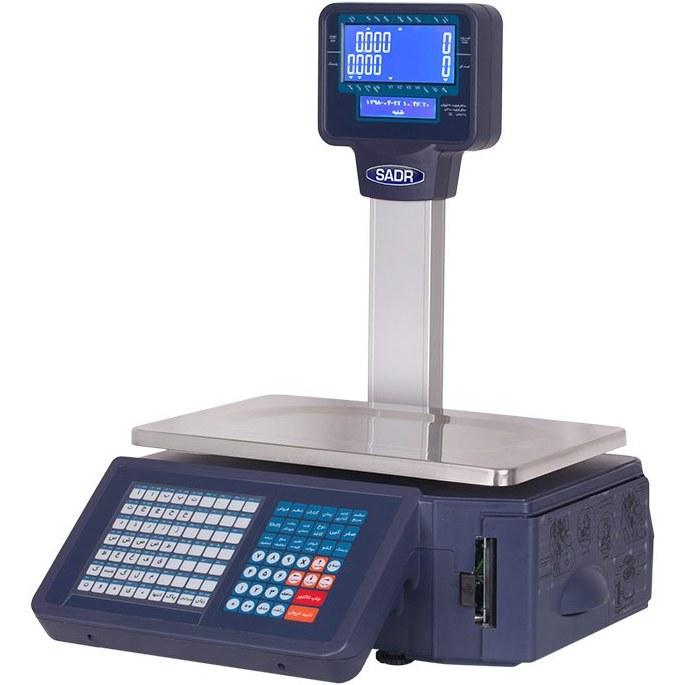 تصویر ترازوی چاپگردار توزین صدر مدل LSG 18A Towzin Sadr Shopping Scale LSG 18A 30kg