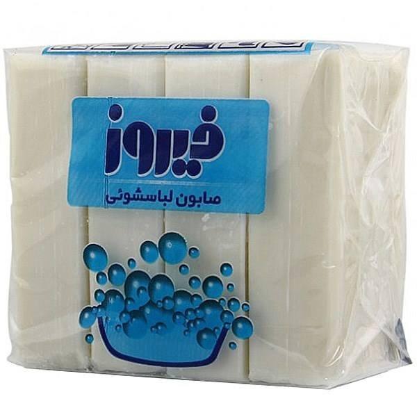 تصویر صابون لباسشویی کودک فیروز ۴ عددی -