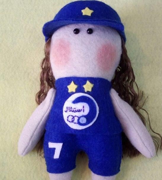 عروسک روسی دختر استقلالی