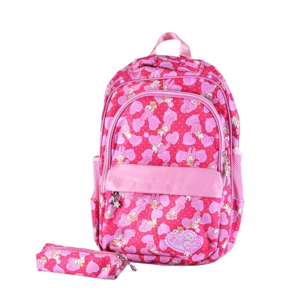 تصویر کیف مدرسه دخترانه ویوا رنگی کد 5235