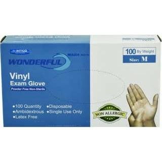 دستکش یکبار مصرف واندرفول بسته 100 عددی سایز M