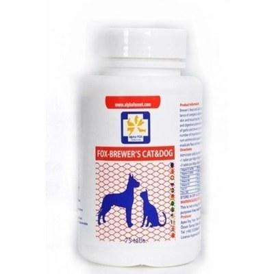 مخمر آبجو مخصوص سگ و گربه AlphaFox مخصوص جلوگیری از ریزش مو |