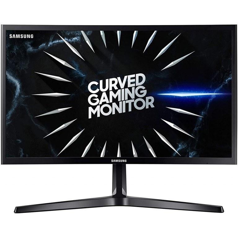 "تصویر Samsung 24-CRG5 Curved Gaming Monitor 144Hz Samsung LC24RG50FQUXEN 24"" CRG5 Curved Gaming Monitor 144Hz, FreeSync, FullHD, 2 x HDMI 1 x Displayport, Black"