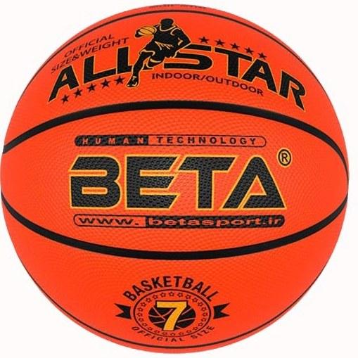 توپ بسکتبال پلاستیکی بتا مدل PBR۷-۶-۵