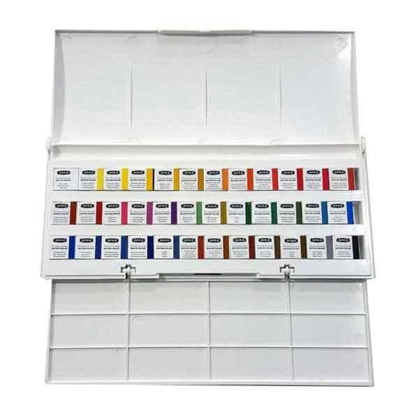 آبرنگ افرا حرفه ای ۳۶ رنگ