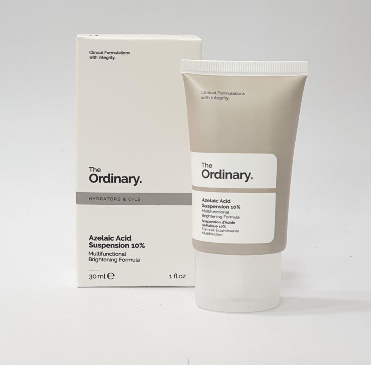 تصویر کرم آزلائیک اسید ۱۰%، آنتی اکسیدان و ضد جوش اوردینری The Ordinary