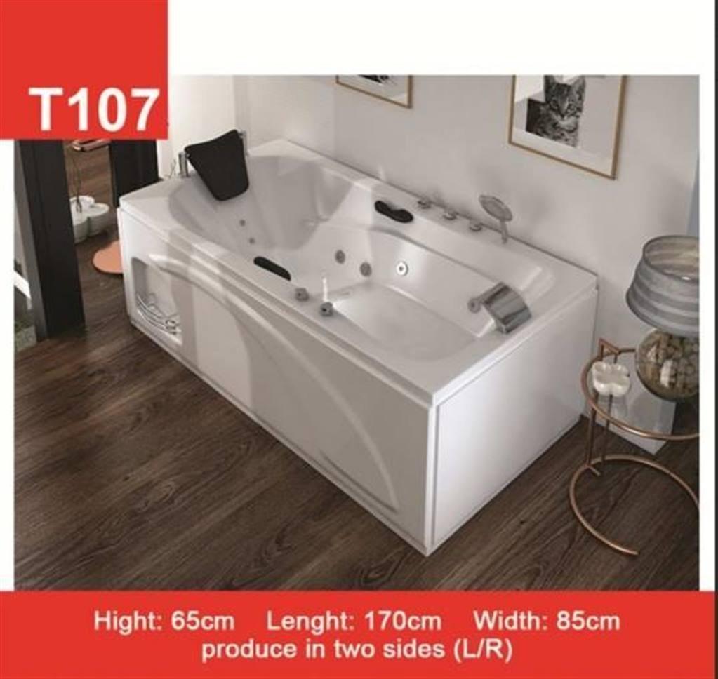 تصویر وان و جکوزی حمام Tenser مدل T107