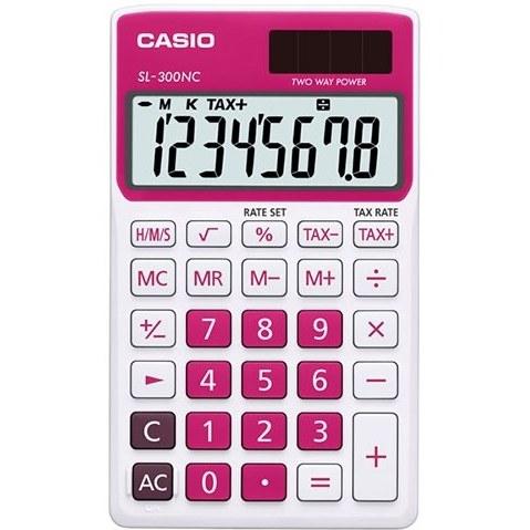 تصویر ماشین حساب کاسیو CASIO SL-300NC-RD Calculator