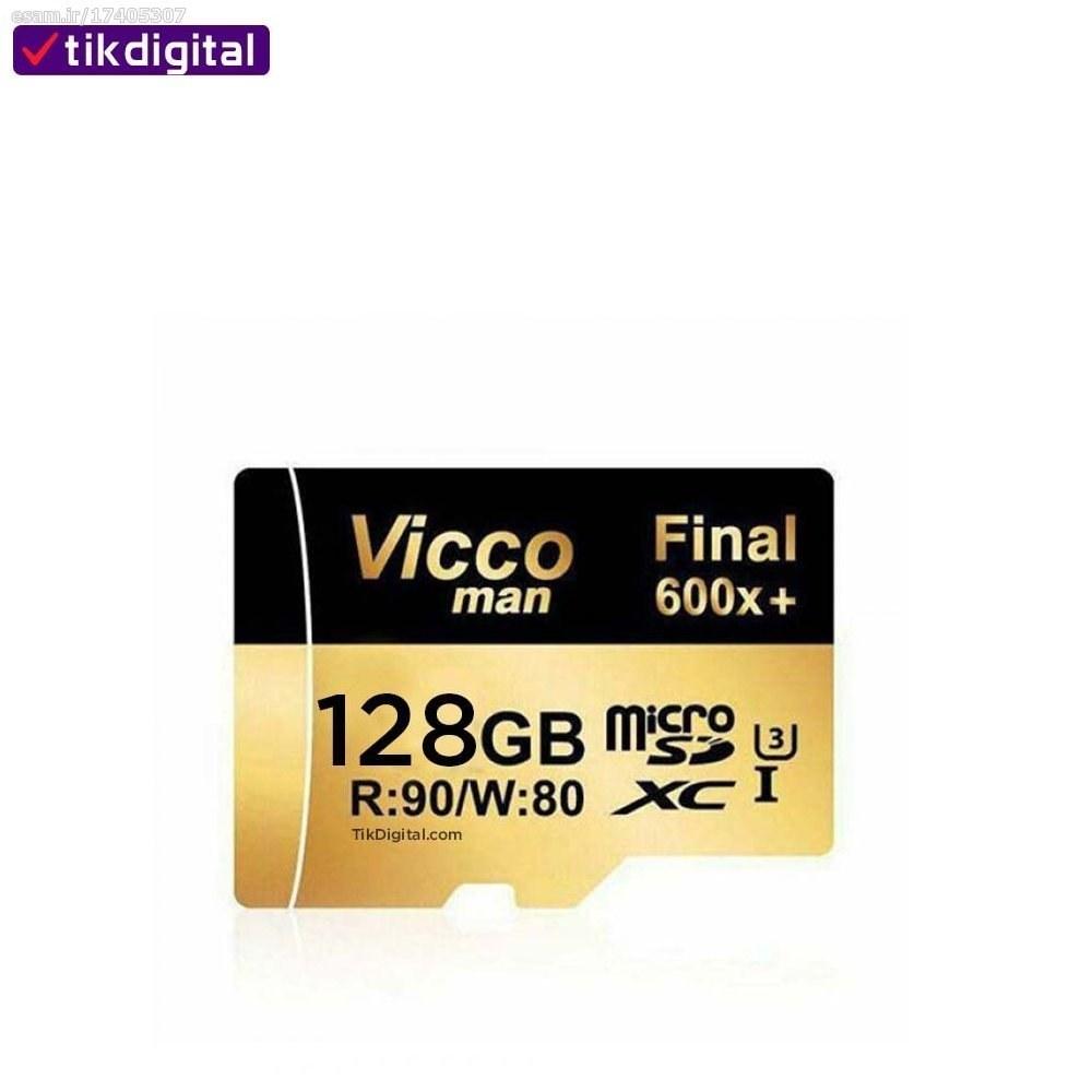 عکس کارت حافظه ویکومن مدل Final 600x کلاس 10 ظرفیت 128 گیگابایت micro SDFinal 600x Class 10 U3-128GB کارت-حافظه-ویکومن-مدل-final-600x-کلاس-10-ظرفیت-128-گیگابایت