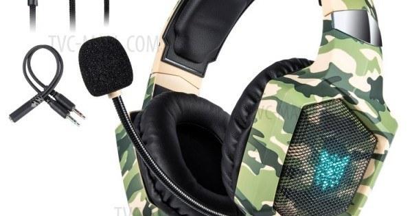 تصویر هدست اونیکوما مدل K8 Headset ONIKUMA Model K8