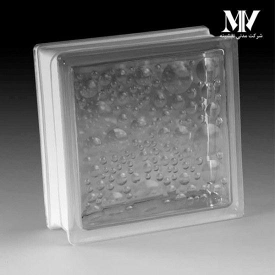 تصویر بلوک شیشه ای مدل حبابی