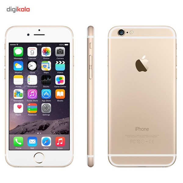 عکس گوشی موبایل اپل مدل iPhone 6 ظرفیت 64 گیگابایت Apple iPhone 6 64GB Mobile Phone گوشی-موبایل-اپل-مدل-iphone-6-ظرفیت-64-گیگابایت 2