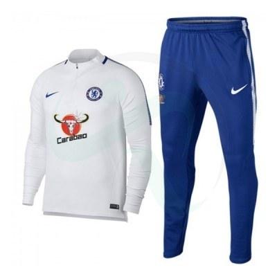 ست گرمکن و شلوار چلسی Nike Chelsea 2017-18 Training Suit W