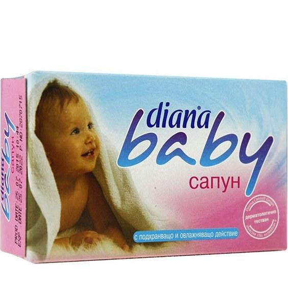 صابون بچه مدل DIANA baby soap